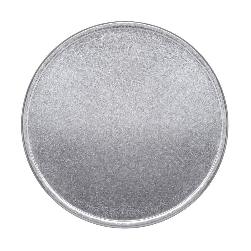 Tomt mynt eller medalj royaltyfri foto