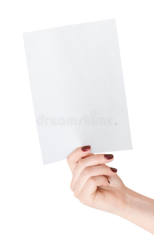 Tomt pappers- täcker räcker in royaltyfri foto