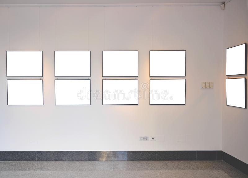 tomt rammuseum royaltyfria bilder