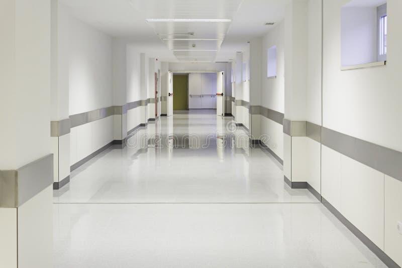 Tomt sjukhus för tillträde royaltyfri bild