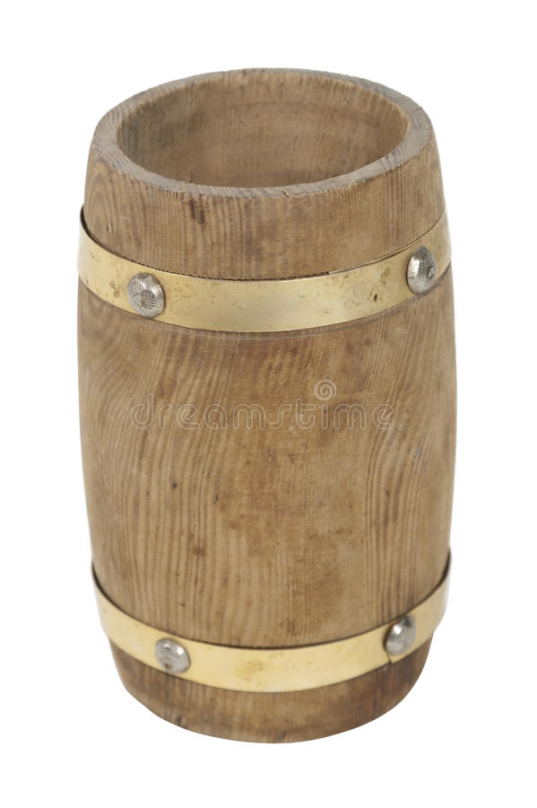 tomt trä för trumma royaltyfri foto