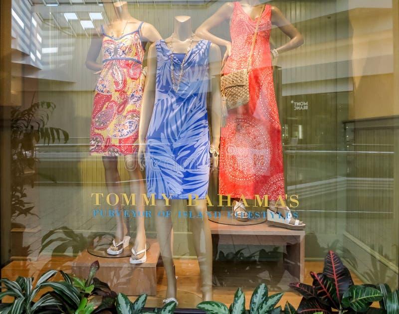 Tomy Bahama lager royaltyfria bilder