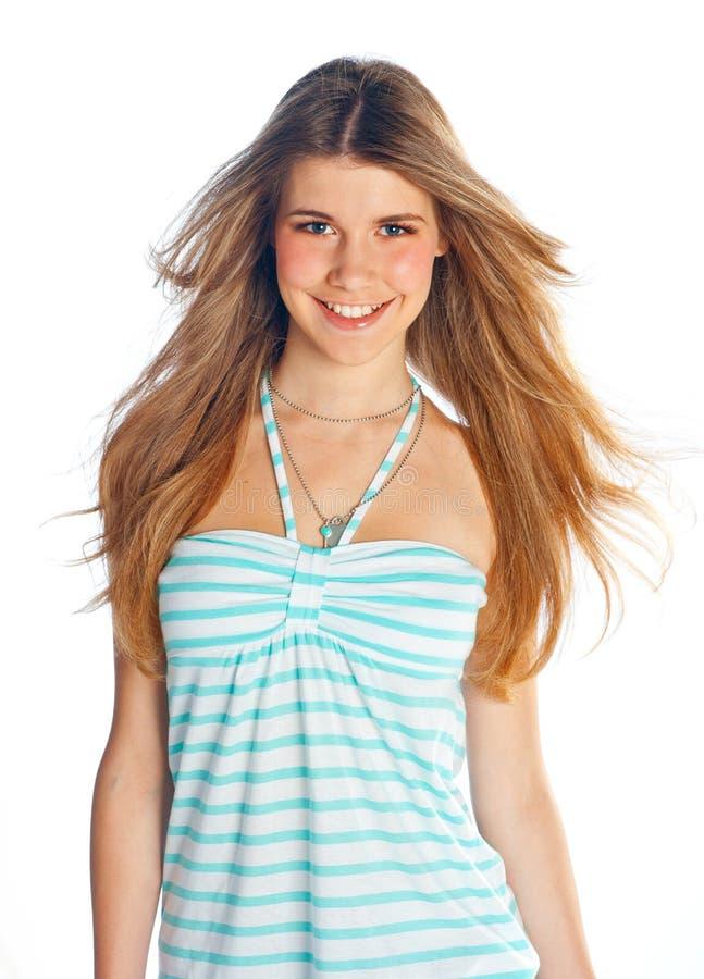 Tonårig flicka arkivfoto