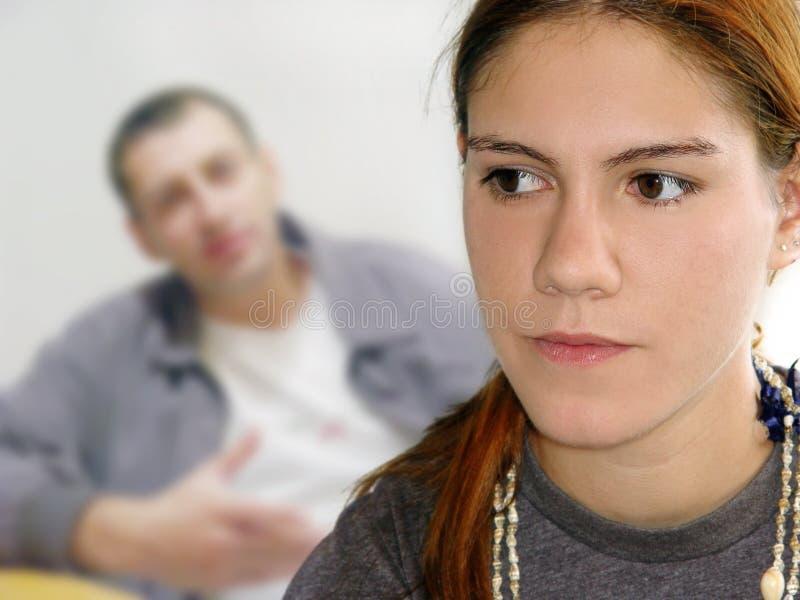 Download Tonåring för problem s fotografering för bildbyråer. Bild av farsa - 42487