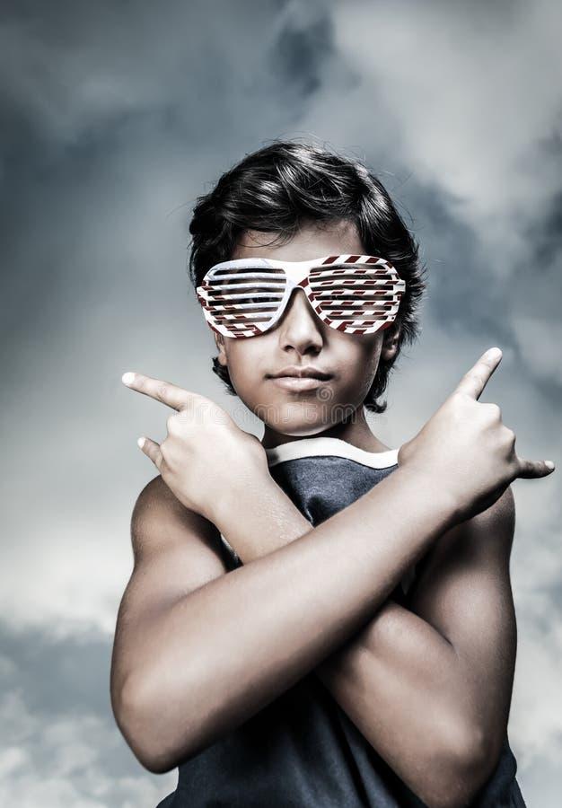 Tonåring i stil fotografering för bildbyråer