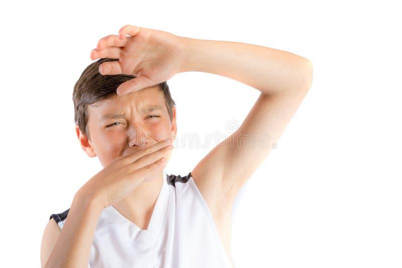 tonårs- barn för pojke arkivfoto