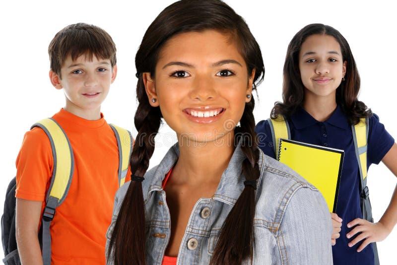 tonårs- deltagare royaltyfria foton