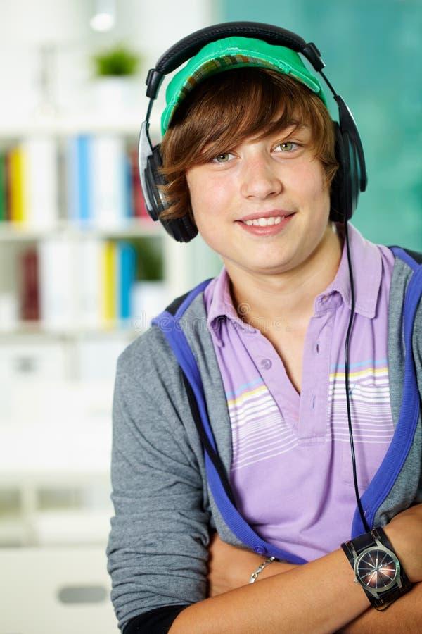tonårs- elev royaltyfri fotografi