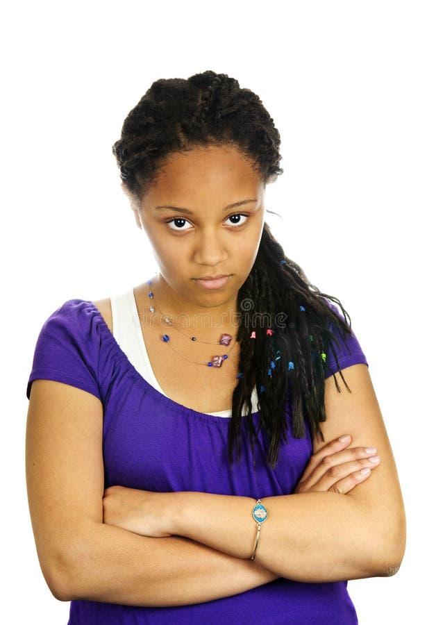 tonårs- flicka royaltyfri fotografi