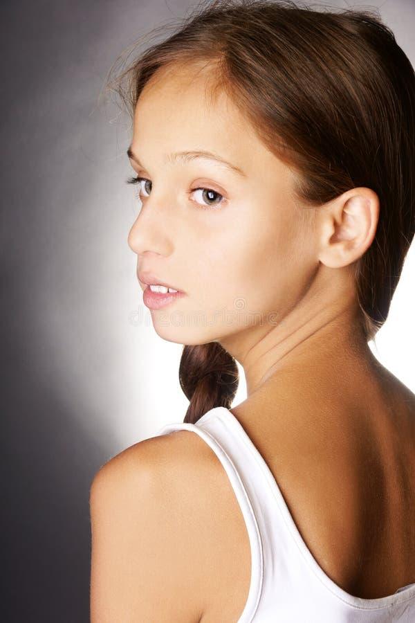 tonårs- flicka royaltyfri bild
