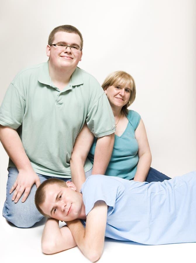 tonårs- momsons royaltyfria foton
