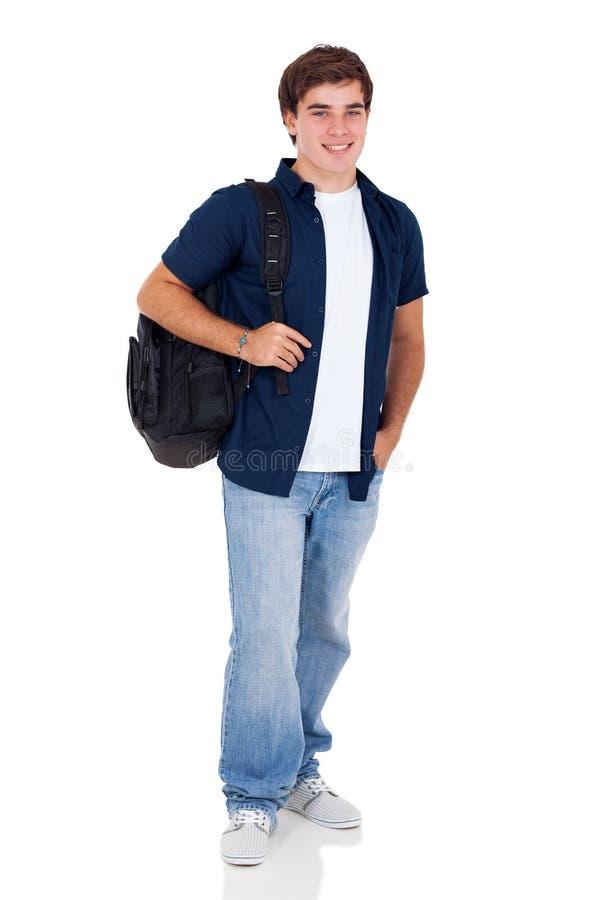 Tonårs- pojke för skola royaltyfria foton