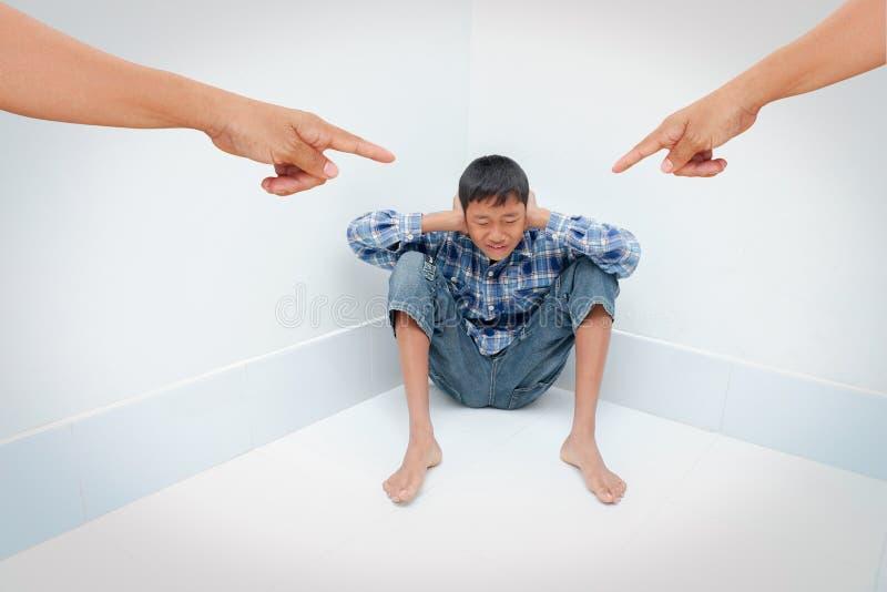 Tonårs- problem royaltyfri foto