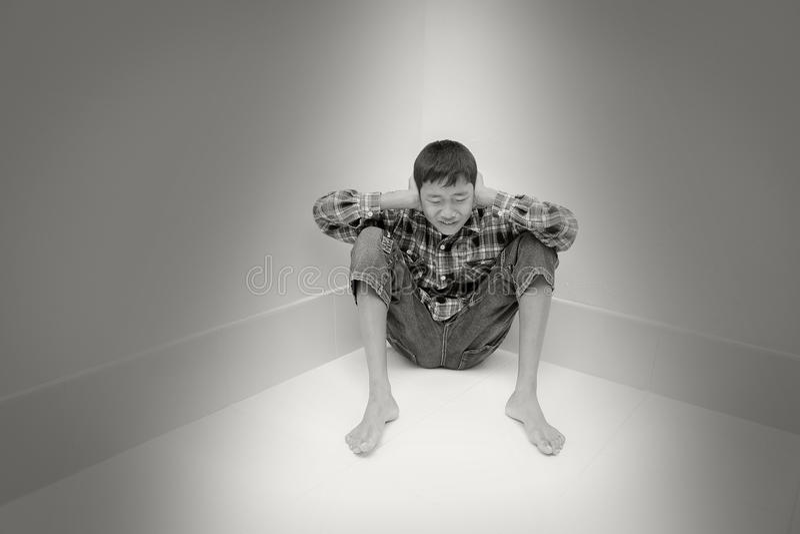 Tonårs- problem arkivfoto