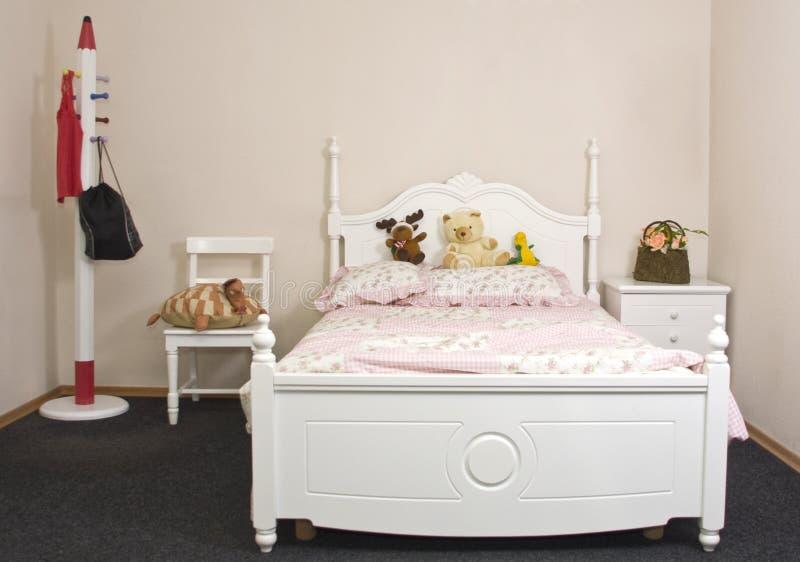 tonårs- sovrumflicka s royaltyfri bild