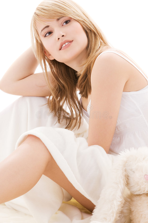 tonårs- underlagflicka royaltyfri foto