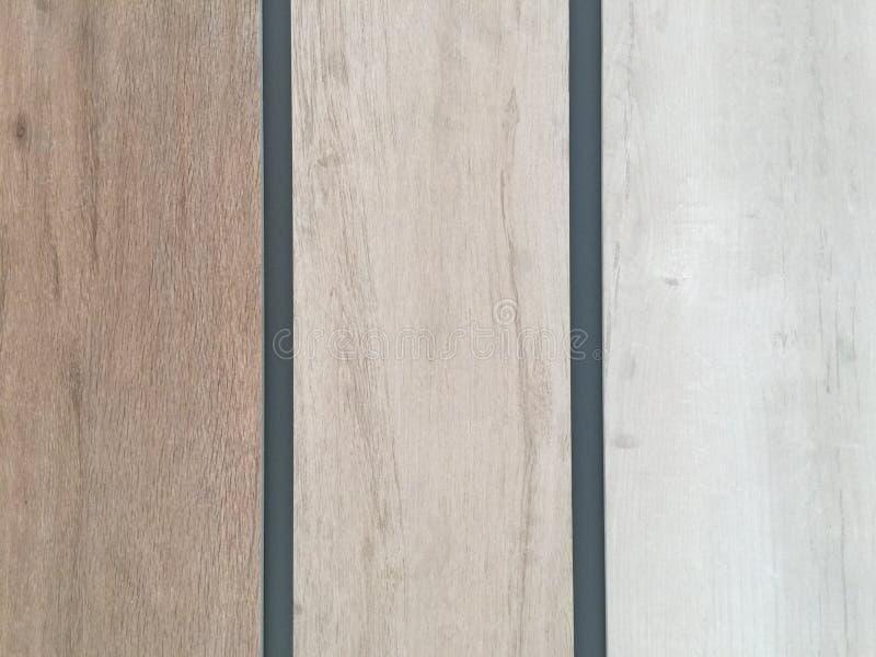 Ton de modèle de mur en bois trois image libre de droits