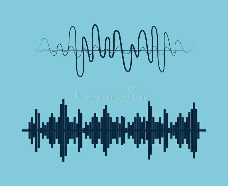 Ton der Stimme vektor abbildung