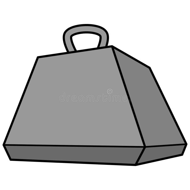 16 Ton Weight royaltyfri illustrationer