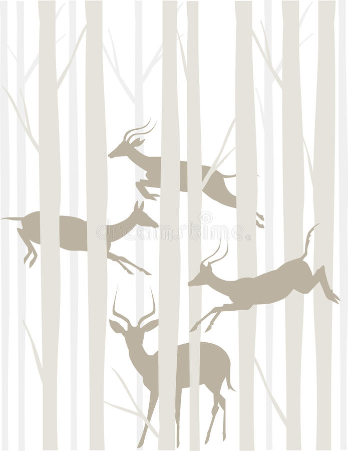 Free Tonal Antelopes Royalty Free Stock Photos - 19642988
