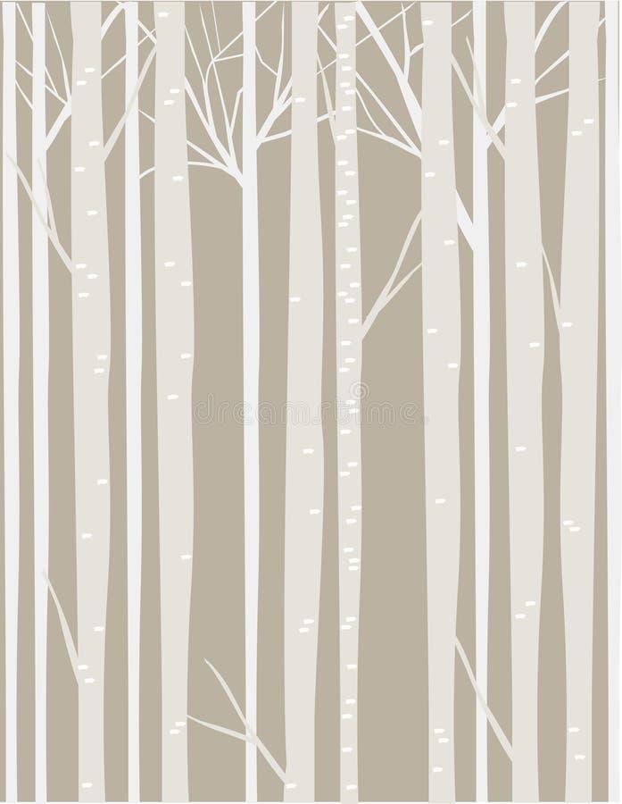 Free Tonal Trees Royalty Free Stock Image - 19642996
