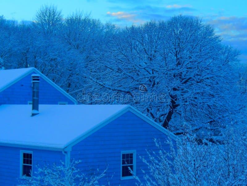 Tonalidad del azul de la madrugada imagen de archivo libre de regalías