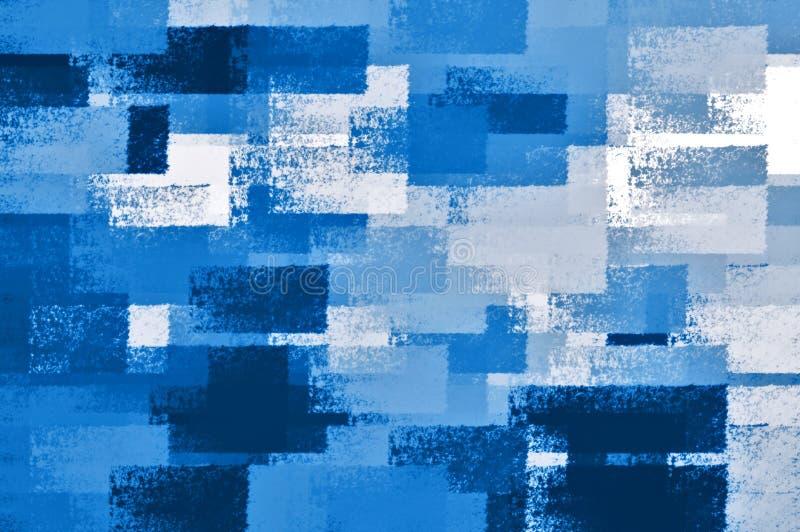 Tonalità dell'azzurro royalty illustrazione gratis