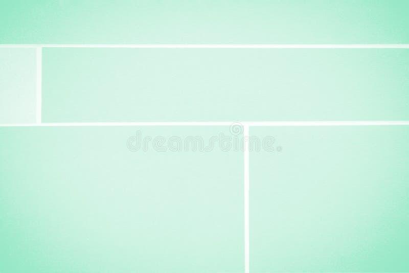 Tonalità di colore leggero della menta Fondo geometrico di colore della menta fotografia stock libera da diritti