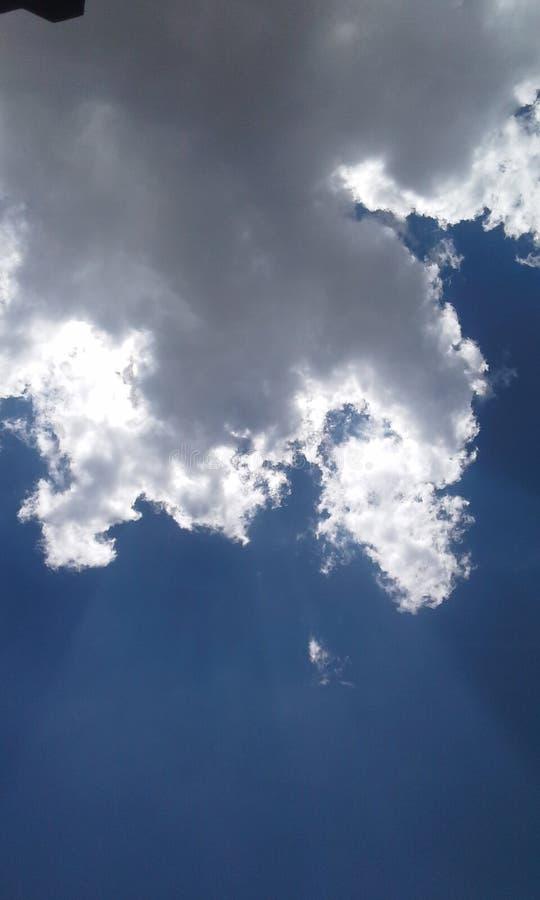 Tonalité de ciel photographie stock libre de droits