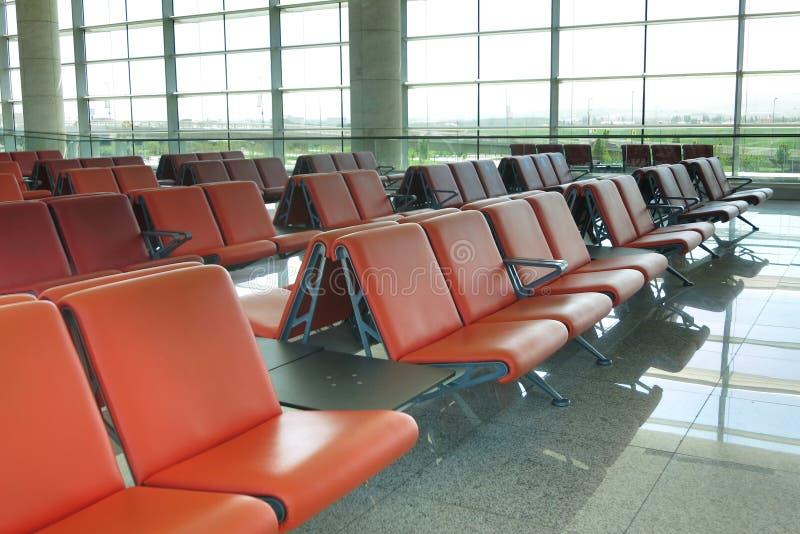 tonat vänta för flygplats blå lokal fotografering för bildbyråer