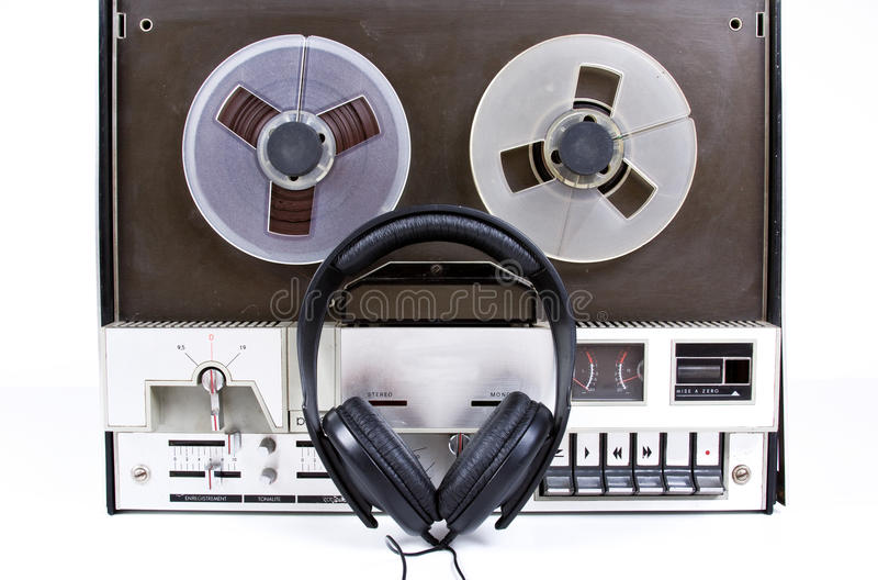 Tonbandgerät stockbilder