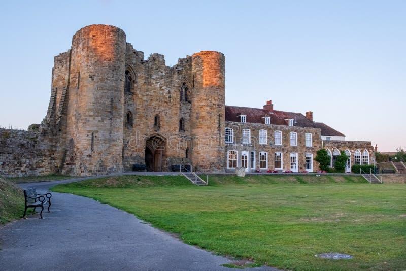 Tonbridge Castle i september 2019 arkivfoto