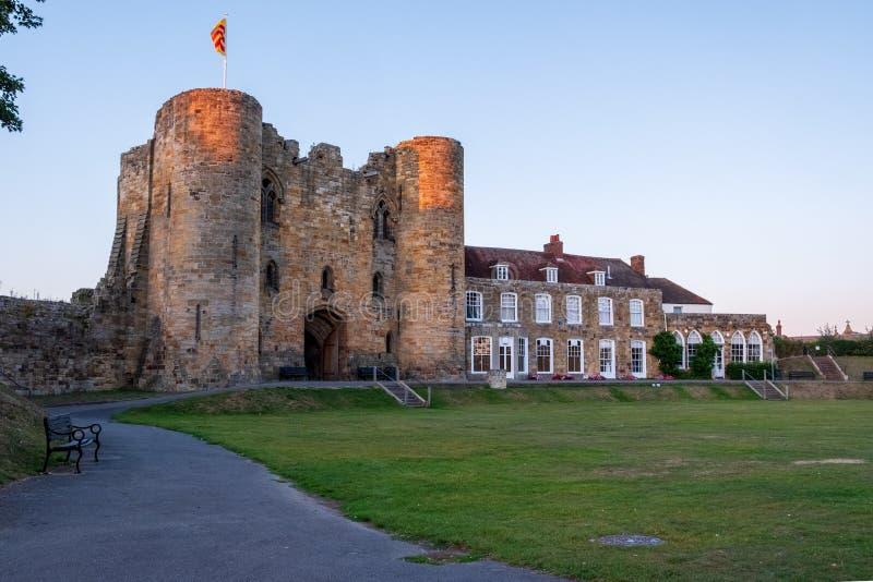 Tonbridge Castle i september 2019 fotografering för bildbyråer