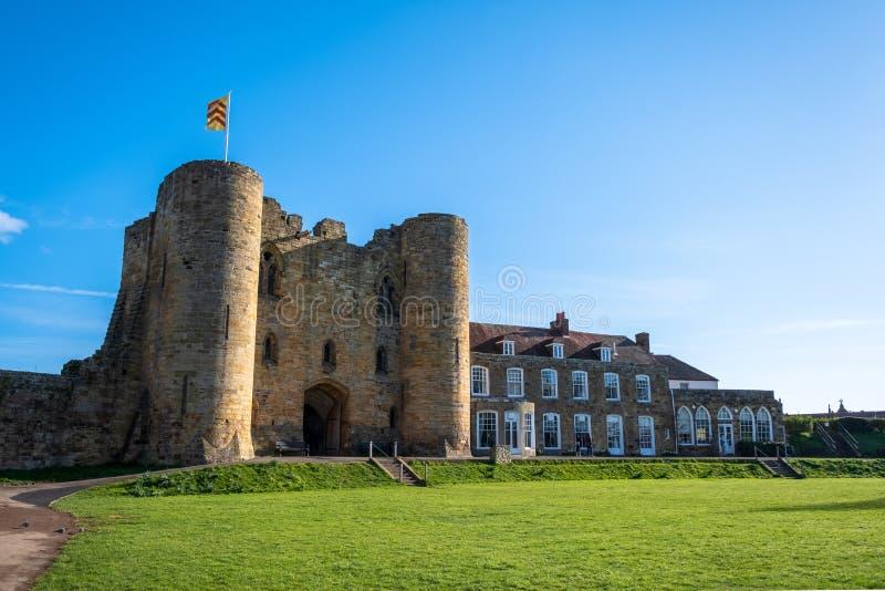 Tonbridge Castle i september 2019 arkivbilder