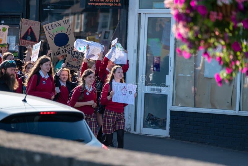 Tonbridge, Kent/England - September 20 2019: Extinction Rebellion Rally stock photography