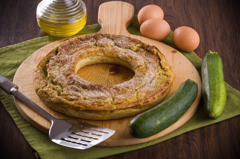 Tondello dello zucchino. fotografia stock libera da diritti