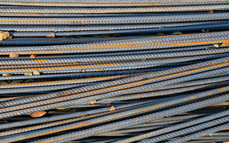 tondini di ferro per costruzione immagine stock libera da diritti