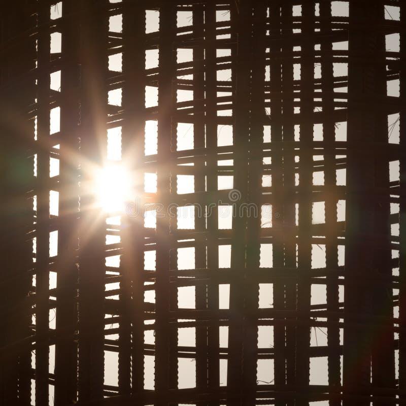 Tondo per cemento armato di riserva a costruzione immagine stock libera da diritti