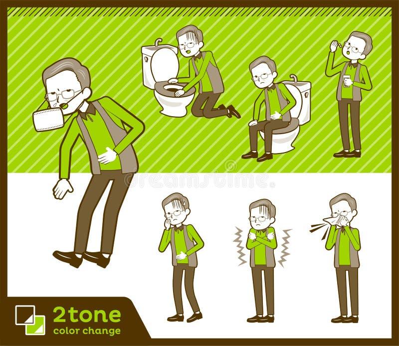 2tone kamizelki grandfather_set 09 typ ilustracji