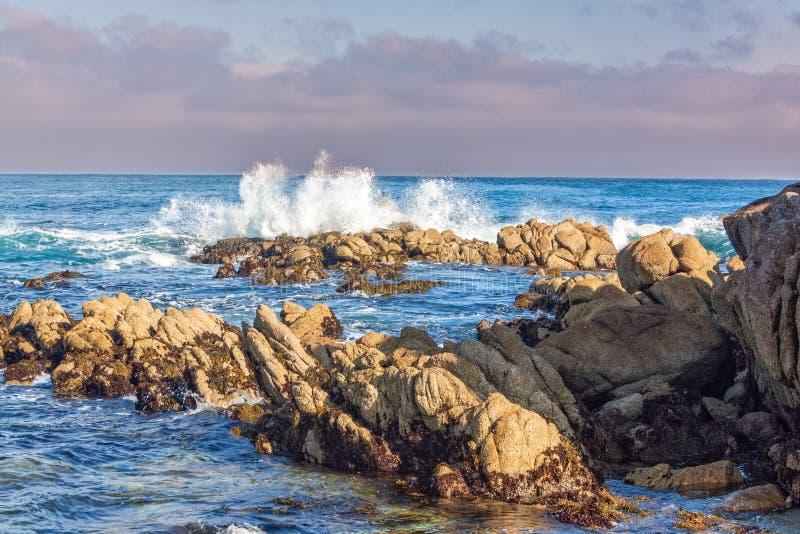 Toneel de Kustlandschap van Californië royalty-vrije stock foto's