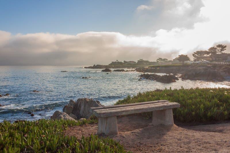 Toneel de Kustlandschap van Californi? royalty-vrije stock fotografie