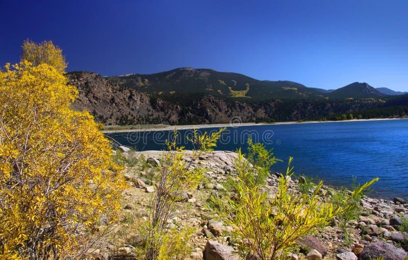 Toneel landschap van Colorado stock afbeeldingen