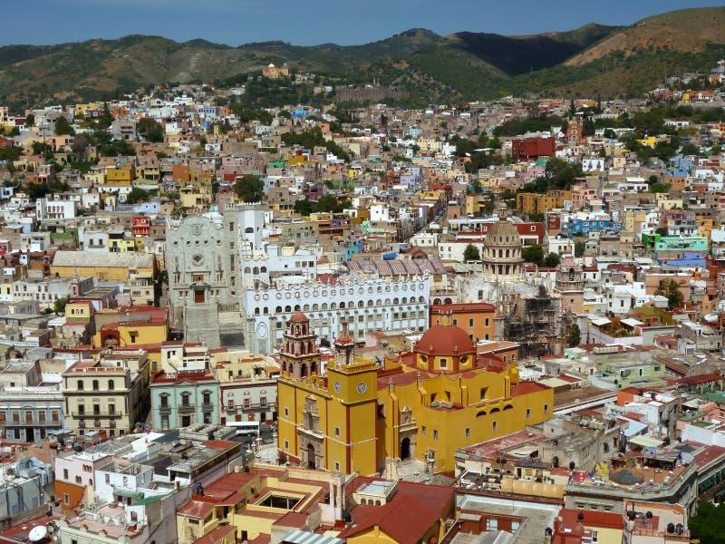 Toneel Mening van Guanajuato Mexico royalty-vrije stock foto's