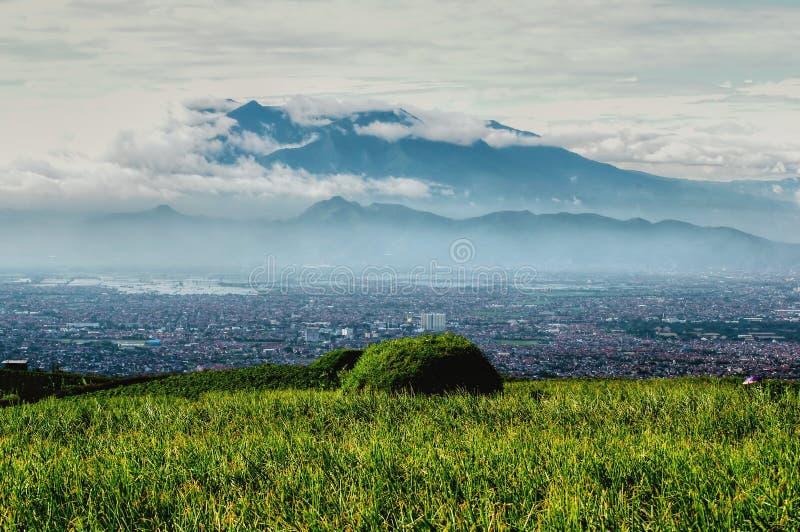 De stad van Bandung royalty-vrije stock afbeeldingen