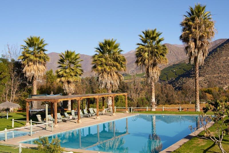 Toneel pool royalty-vrije stock fotografie