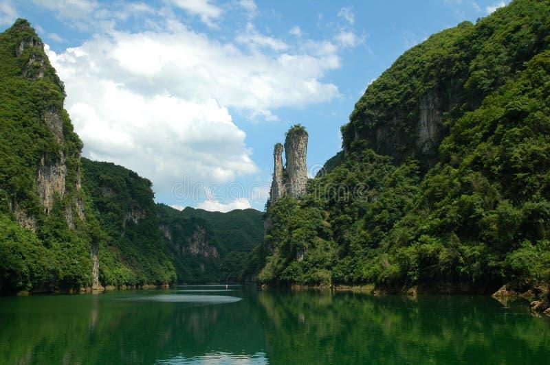 Toneel rivieren stock fotografie