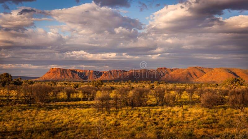 Toneel woestijnlandschap stock foto