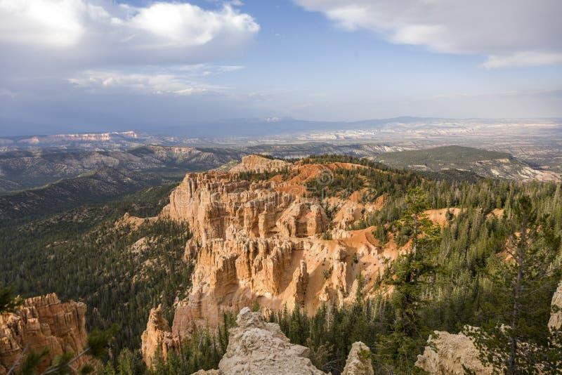 Toneelbryce canyon landscape royalty-vrije stock foto