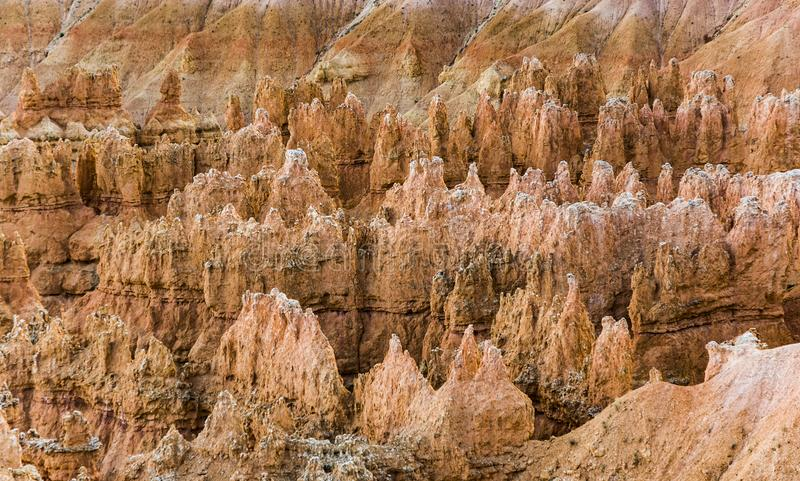 Toneelbryce canyon landscape stock fotografie