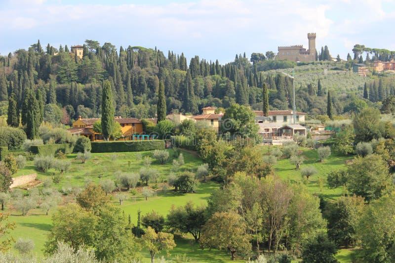 Toneellandschap in Florence, Italië royalty-vrije stock foto's